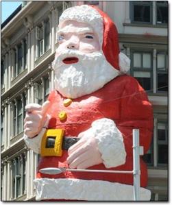 deformed santa