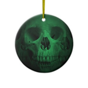 wicked_green_skull_ornament